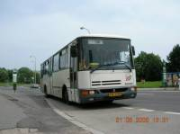 Do které zastávky přijíždí Karosa B932 na lince 16? (náhled)